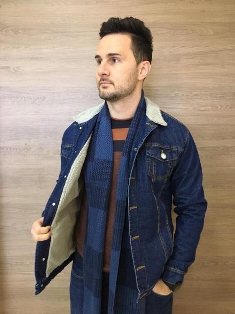 Jaqueta Mas Forrada Com Pele 38 Premium Escura