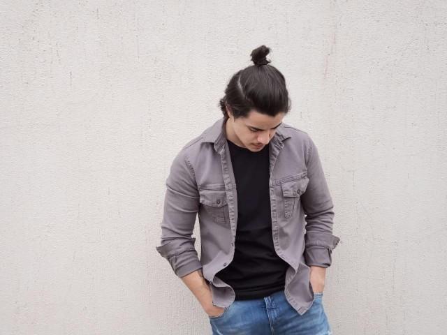 Shirt Jacket Mas 17 Megaflex Cinza